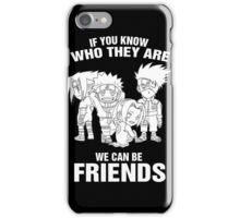 Kakashi - Kakashi Team iPhone Case/Skin
