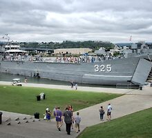 USS LST-325 Naval Ship by LarryB007
