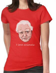 David Attenborough Womens Fitted T-Shirt