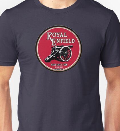 Royal Enfield retro vintage logo Unisex T-Shirt