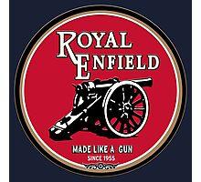 Royal Enfield retro vintage logo Photographic Print