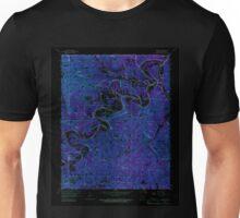 USGS TOPO Map Arkansas AR Beaver 257950 1957 24000 Inverted Unisex T-Shirt