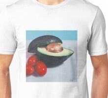 Avocado and Cherry Tomatoes Unisex T-Shirt