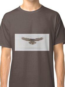 Great Grey Owl in flight Classic T-Shirt