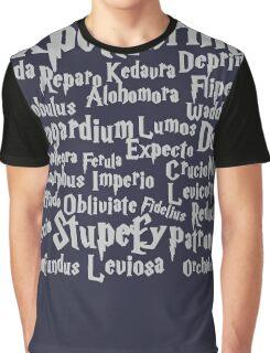 Expelliarmus Magic Spell Shirt Graphic T-Shirt