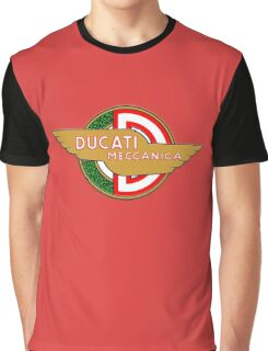 Ducati retro vintage logo Graphic T-Shirt