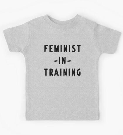 Feminist in training Kids Tee