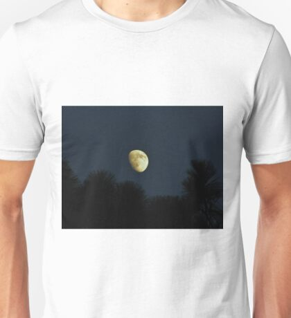 Waxing Moon Over Florida Unisex T-Shirt
