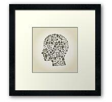 Head medicine Framed Print