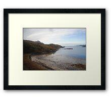 Western Coast of Scotland Framed Print