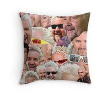 Fieri mashup Throw Pillow