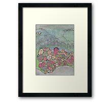 family gathering on Earth Framed Print