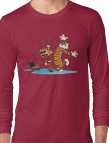 Calvin Hobbes  Long Sleeve T-Shirt