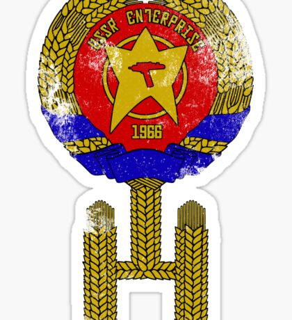 USSR Enterprise Sticker