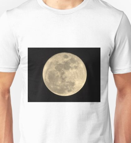 2015 Christmas Full Moon Unisex T-Shirt