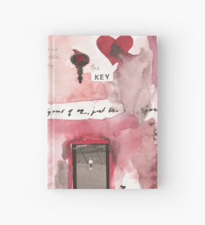 The House Blew Away Hardcover Journal