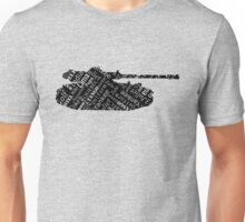 Military Tank Commander Army Phonetic Alphabet Design Unisex T-Shirt