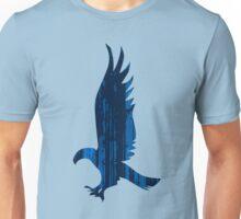 Eagle blue forest Unisex T-Shirt