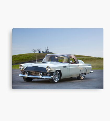 1956 Ford Thunderbird Convertible Canvas Print