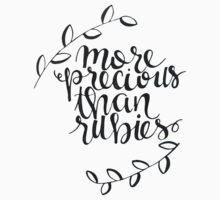 more precious than rubies Baby Tee