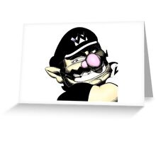 Wariowear and Accessories! Greeting Card