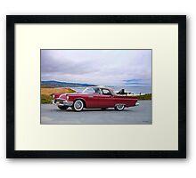 1957 Ford Thunderbird Convertible Framed Print