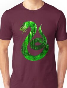 Snake green forest Unisex T-Shirt