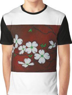 Dogwood Blossoms Graphic T-Shirt