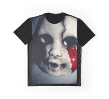 Bloody Face Graphic T-Shirt