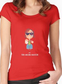 TER-MOM-NATED! Women's Fitted Scoop T-Shirt