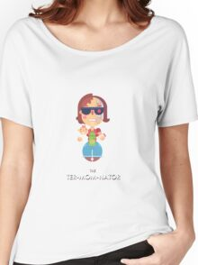 TER-MOM-NATED! Women's Relaxed Fit T-Shirt