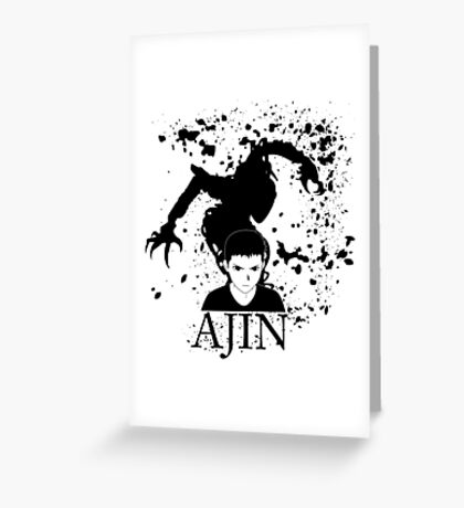 Ajin Greeting Card
