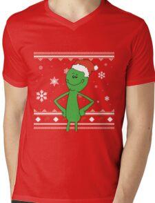 Merry Mr Meeseeks Mens V-Neck T-Shirt