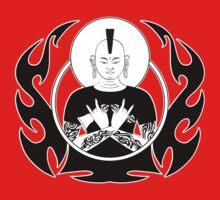 Punk Rock Buddha One Piece - Short Sleeve