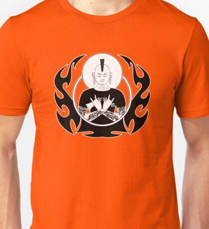 Punk Rock Buddha Unisex T-Shirt