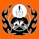 Punk Rock Buddha by TheKamikazen