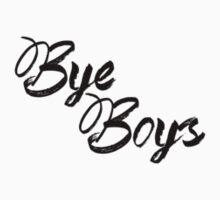 Bye Boys Kids Tee
