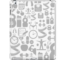 Medical background iPad Case/Skin