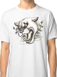 Cougar Tattoo Flash Classic T-Shirt