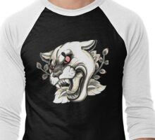 Cougar Tattoo Flash Men's Baseball ¾ T-Shirt