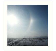 LG G5 North Dakota Cold Art Print