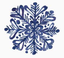 Beautiful watercolor snowflakes  Kids Tee