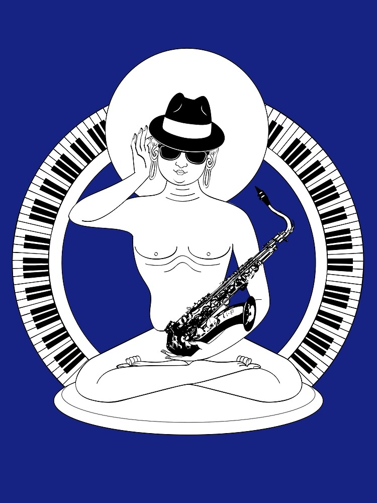 Sit five… the jazz Buddha by TheKamikazen