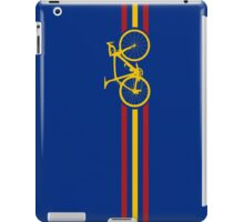 Bike Stripes Spanish National Road Race v2 iPad Case/Skin