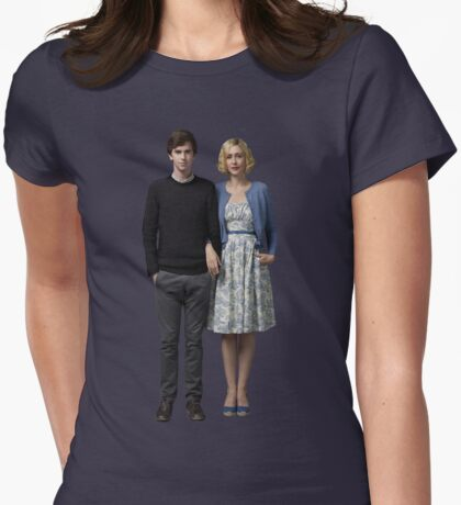 Bates Motel  Womens Fitted T-Shirt
