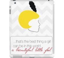 The Great Gatsby Daisy Buchanan iPad Case/Skin