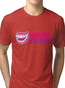 Senior of the Month Tri-blend T-Shirt