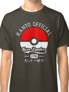 Kanto official gym leader Classic T-Shirt