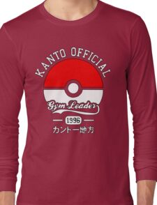 Kanto official gym leader Long Sleeve T-Shirt