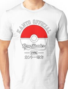 Kanto official gym leader Unisex T-Shirt